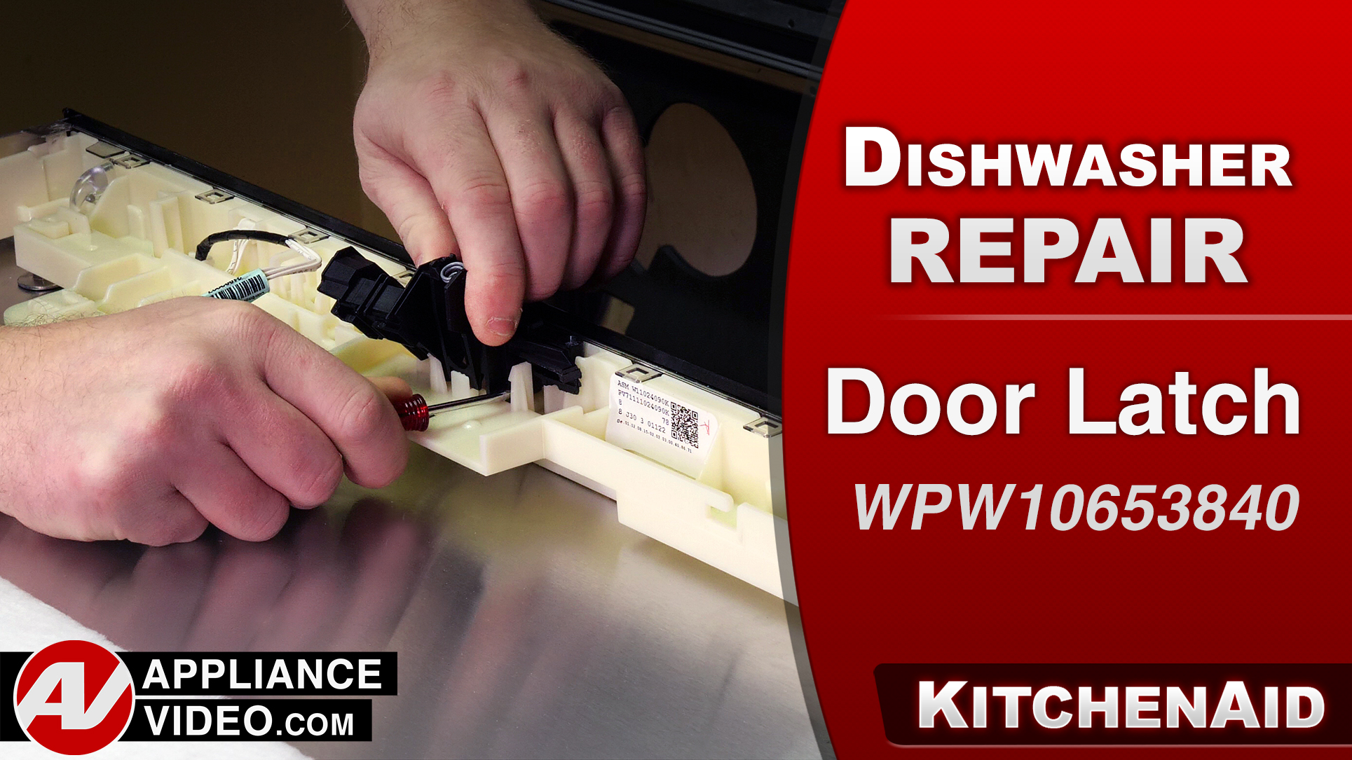 KitchenAid KDTM354ESS3 Dishwasher – Will not be able to open door – Door Latch