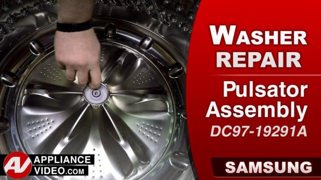 Samsung WA52M8650AV Washer – Loud griding noise – Washplate / Pulsator