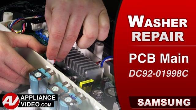 Samsung WA52M8650AV Washer – No Power – PCB Main