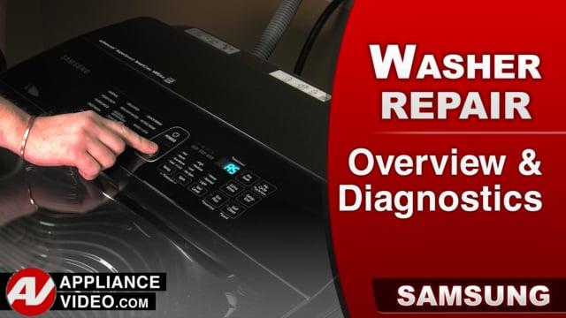 Samsung WA52M8650AV Washer – Overview / Diagnostics