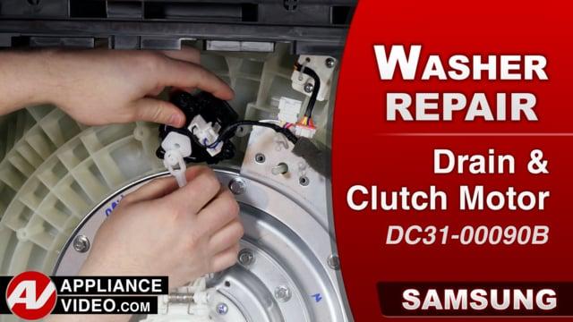 Samsung WA52M8650AV Washer – PC Error code – Clutch Motor