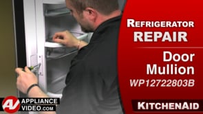KitchenAid KRFF305EBS Refrigerator – Condensation build up – Door Mullion