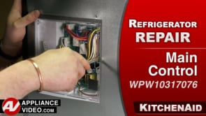 KitchenAid KRFF305EBS Refrigerator – No power – Main Control