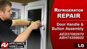 LG LMXC23796S Refrigerator – Door in door does not work – Door Handle Assembly