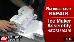 LG LMXC23796S Refrigerator – Not dispensing ice – Ice Maker Assembly