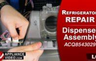 LG LMXC23796S Refrigerator – Will not emit light when knocking on door – Door Knock Sensor
