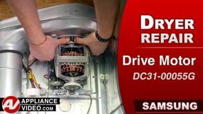 Samsung DV45K6200GW Dryer – Unit will hum – Drive Motor