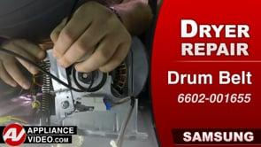 Samsung DV45K6200GW Dryer – Will not start – Drum Belt