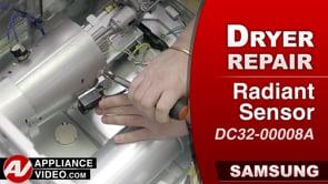 Samsung DV45K6200GW Dryer – Will not heat – Flame Sensor