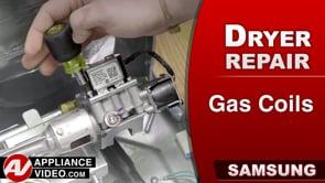 Samsung DV45K6200GW Dryer – Will not heat – Gas Coils