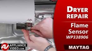 Maytag MGDB835DW4 Dryer – Not heating – Flame Sensor