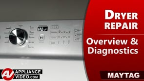 Maytag MGDB835DW4 Dryer – Overview / Diagnostics