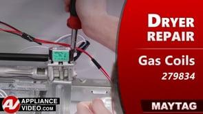 Maytag MGDB835DW4 Dryer – Unit will not heat – Gas Coil Kit