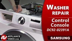 Samsung WF45T6200AW Washer – Buttons unresponsive – Control Console
