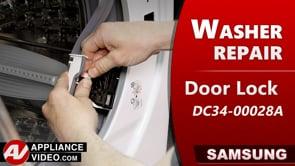 Samsung WF45T6200AW Washer – Door will not lock or remains locked – Door Lock