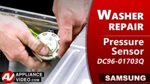 Samsung WF45T6200AW Washer – Will not fill – Pressure Sensor
