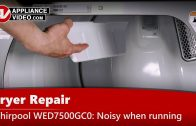 Frigidaire FFTW4120SW Washer – Will not agitate – Agitator Assembly