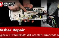Frigidaire FFTW4120SW Washer – Washer will not fill – Water Inlet Valve