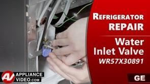 GE PSE25KSHKHSS Refrigerator – Leaking water – Water Inlet Valve