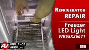 GE PSE25KSHKHSS Refrigerator – No light in unit – LED Light Board