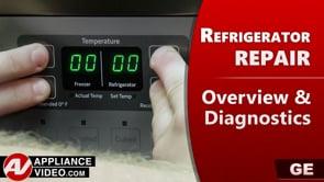 GE PSE25KSHKHSS Refrigerator – Overview / Diagnostics