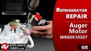 GE PSE25KSHKHSS Refrigerator – Unit will not dispense ice – Auger Motor