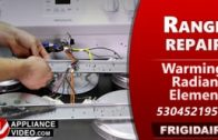 Frigidaire FCRE3052AWB Stove – Element will not turn on – 10″ Element Infinite Switch