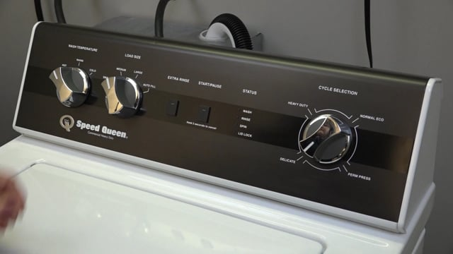 Alliance – Speed Queen – TR3 – User Operation – Top Load Washer