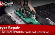 GE GFD45ESPM1DG Dryer – Dryer will not heat – Electronic Control