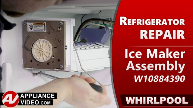 Whirlpool WRF540CWHV01 Refrigerator – No ice production – Ice Maker Assembly