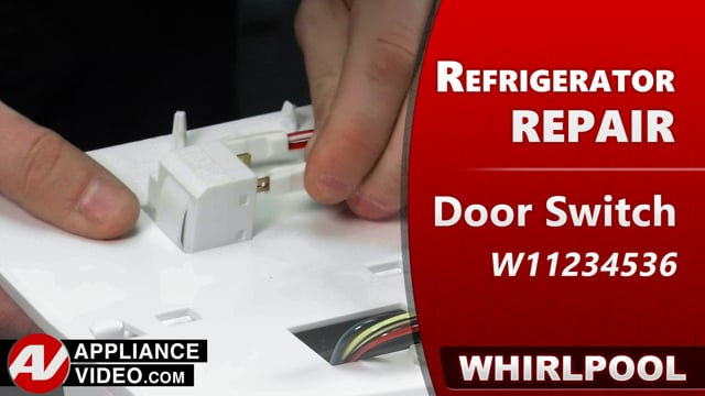 Whirlpool WRF540CWHV01 Refrigerator – Inadequate cooling – Fresh Food Door Switch