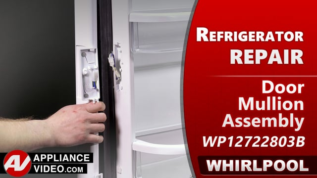 Whirlpool WRF540CWHV01 Refrigerator – Condensation on mullion – Door Mullion