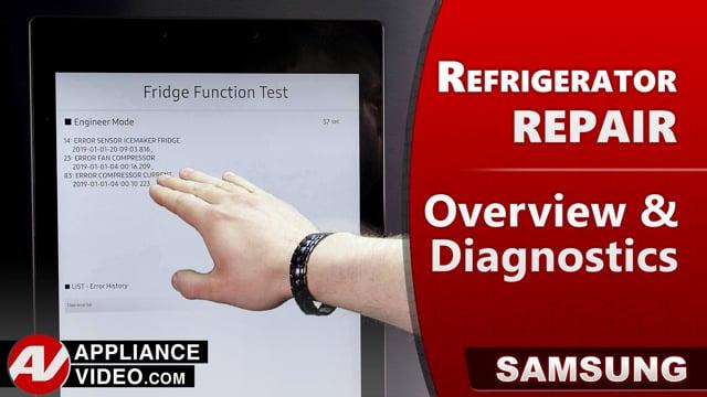 Samsung RF22R7551DT/AA Refrigerator – Overview / Diagnostics