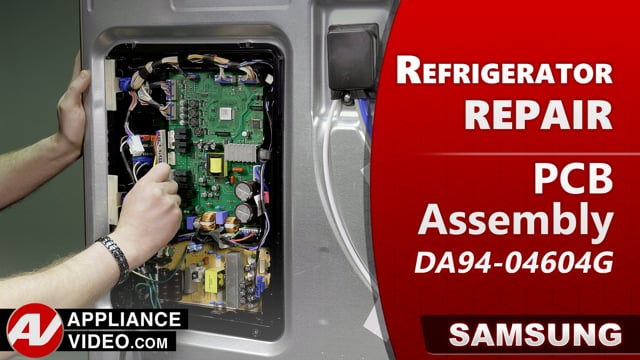 Samsung RF22R7551DT/AA Refrigerator – Not Cooling – PCB Assembly
