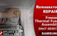 Samsung RF22R7551DT/AA Refrigerator – Leaking water in Fresh Food cabinet – Fresh Food Evaporator Cover