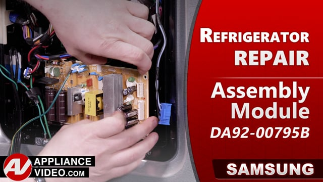 Samsung RF22R7551DT/AA Refrigerator – Will not cool – Module Assembly