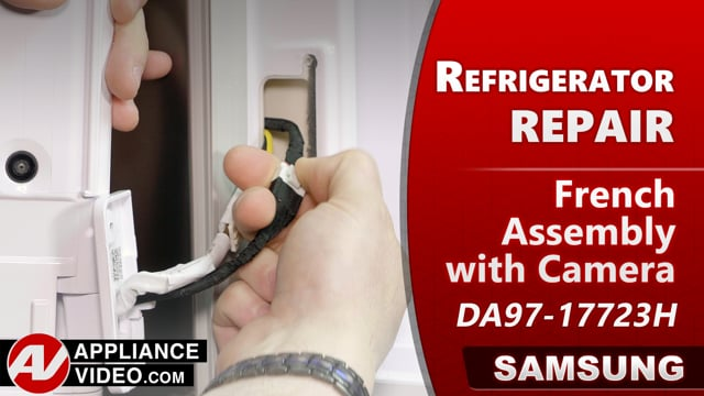 Samsung RF22R7551DT/AA Refrigerator – Condisartion build up on mulian – French Assembly with Camera