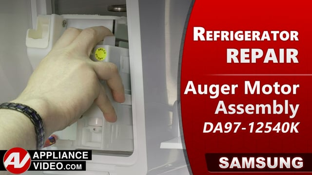 Samsung RF22R7551DT/AA Refrigerator – Not dispencing ice – Auger Motor Assembly