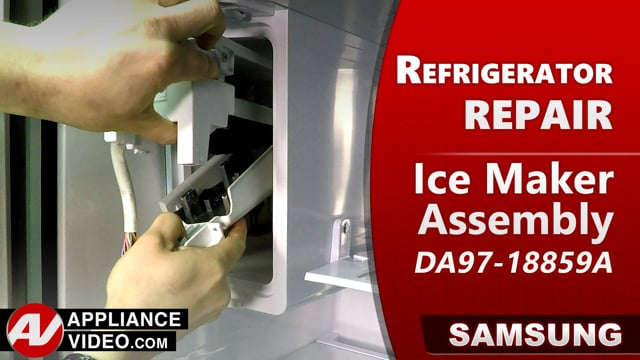 Samsung RF22R7551DT/AA Refrigerator – Not makiing ice – Ice Maker Assembly
