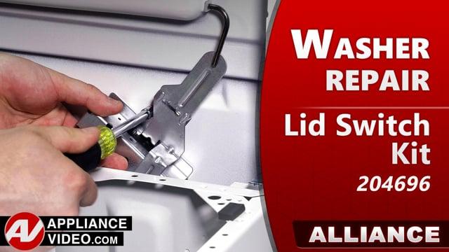 Speed Queen – Alliance TR7 Washer – Will not start – Lid Switch Kit