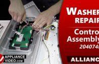 Speed Queen – Alliance TR7 Washer – Will not drain – Pump and Bracket