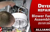 Speed Queen – Alliance ADEE9RGS175TW01 Dryer – Will not run – Cylinder Belt